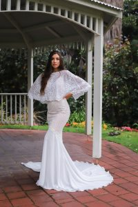 mermaid lace wedding dress gown perth jrwbridal