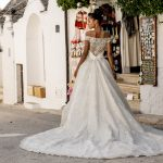perth wedding dress lace gown beaded Perth bridal elegant collection italian modern bride princess offtheshoulder