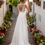 perth wedding dress lace gown beaded Perth bridal elegant collection italian modern bride low back