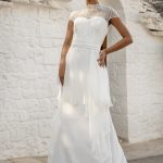 perth wedding dress lace gown beaded Perth bridal elegant collection italian modern bride
